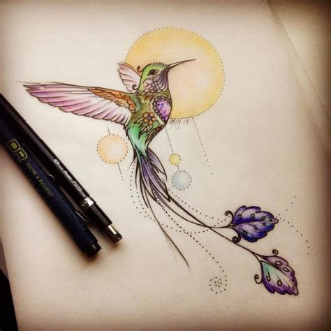 hummingbird tattoo symbolism 80 best watercolor hummingbird meaning and