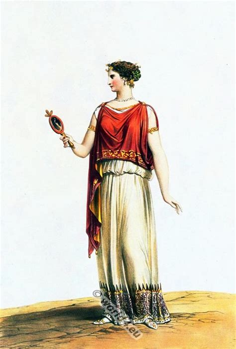 ancient greek costume history pictures showing how to recreate a ionic chiton ancient greek lady from sicily 400 bc