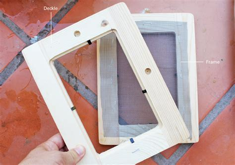How To Make Recycled Paper Without A Screen - how to make paper babble dabble do