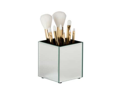 makeup holder mirrored brush holder the makeup box shop