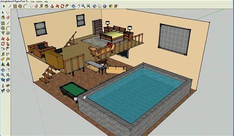design bedroom using google sketchup elaborate bedrooms on google sketchup youtube