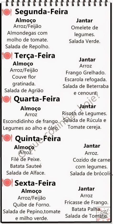 Detox Dieta Cardapio by O Que Cozinhar Hoje Card 225 Pio Da Semana Ameiiiii