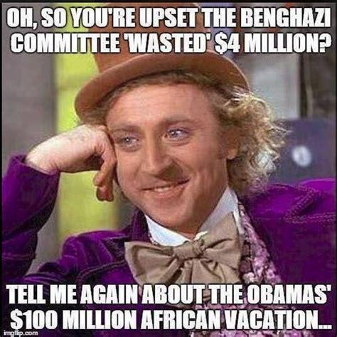 Benghazi Meme - meme destroys liberal attacks on benghazi investigation