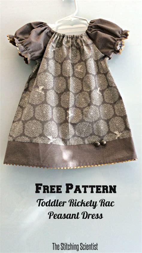 pretty peasant dress pdf pattern doll clothing dolls free toddler peasant dress pattern the stitching