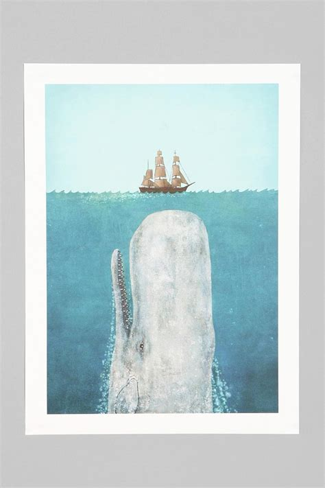 terry fan the whale art print terry fan the whale art print urban outfitters