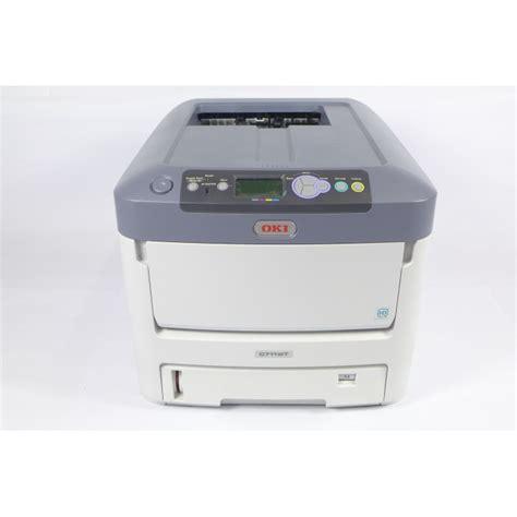 Printer Oki C711wt oki led laser printer c711wt with white toner technology