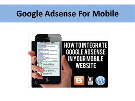 adsense for mobile penjelasan tentang adsense for mobile