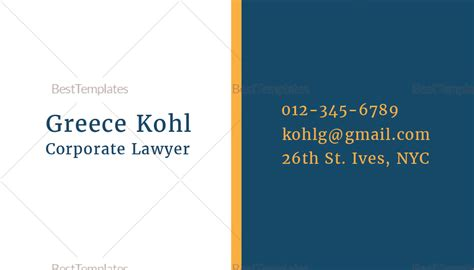 attorney business card template word lawyer business card template gallery avery business