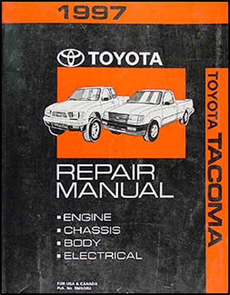car repair manuals download 1997 toyota tacoma parking system 1997 toyota tacoma repair shop manual original