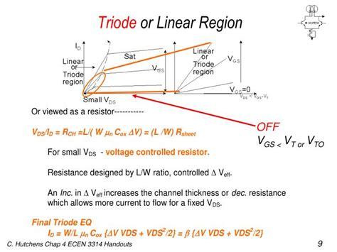 transistor lifier region ppt chapter 4 powerpoint presentation id 1154267