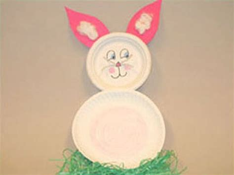 Paper Plate Easter Crafts - easter craft ideas for and preschool children