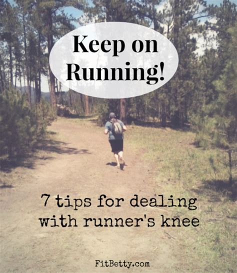 7 Tips On Dealing With by Keep On Running 7 Tips For Dealing With Runner S Knee
