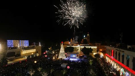 bethlehem tree lighting ceremony 2017 christians worry silent may soon refer to their