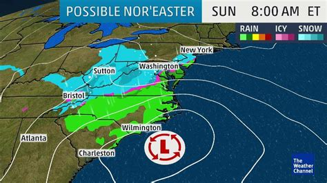 what is a nor easter in weather will a nor easter kickoff with east coast snow
