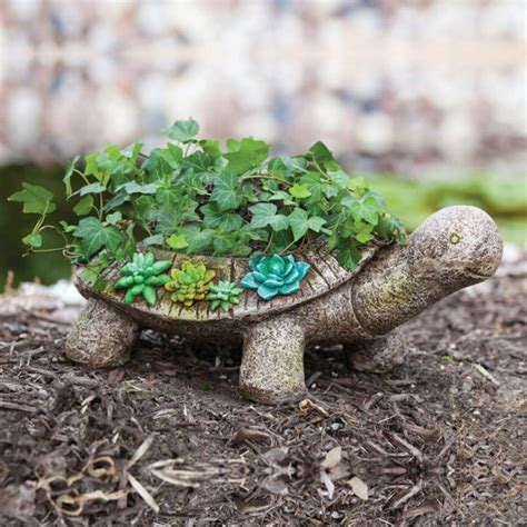 turtle succulent planter 50 unique pots planters you can buy right now