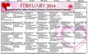 Calendar For Home December Activity Calendars For Nursing Homes Calendar