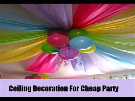 Cheap Up Decorations - 7 unique and cheap decoration ideas