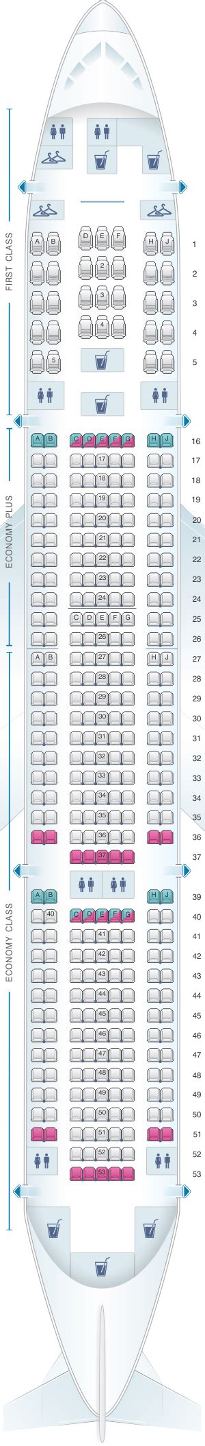 united 777 200 seat map seat map united airlines boeing b777 200 777 version 4