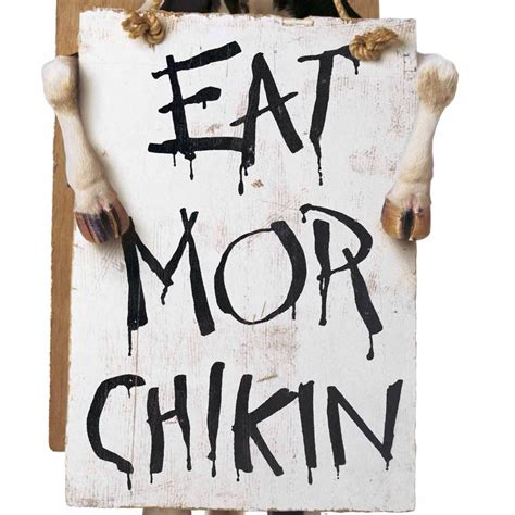 Eat Mor Chikin Printable Sign fil a etown chickfilaetown1