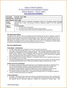Monthly Update Report Template 7 Monthly Report Template Authorizationletters Org