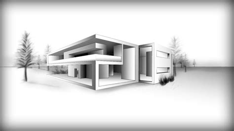 modern house drawing home design architecture design drawing a modern house