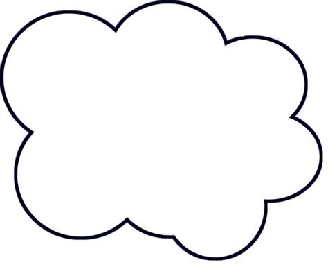Cloud Templates diy paper cloud mobile tutorial
