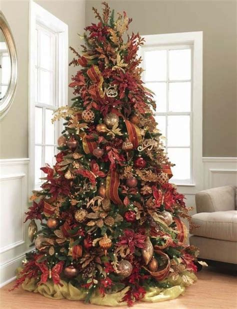 country christmas tree decorating ideas designcorner