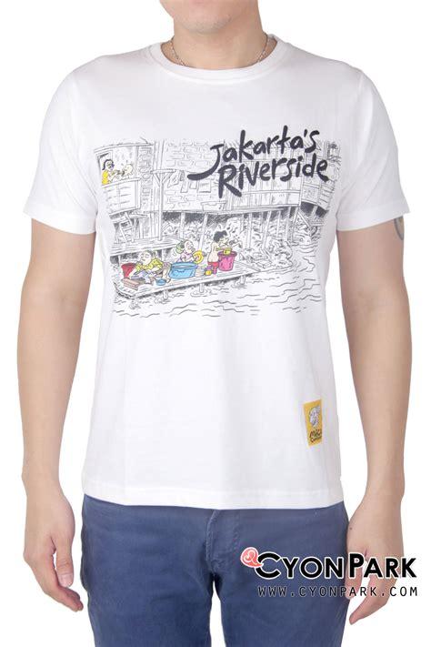 Kaos Tulisan Jakarta Merah comical kaos kartun asli indonesia butik