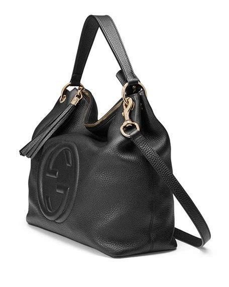 Mulberry Soho Leather Hobo Bag by Gucci Soho Large Leather Hobo Bag Black