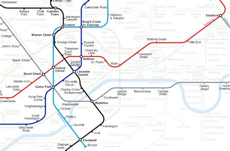 tube map 2015 northern line the amateur map designer who remade london s tube map