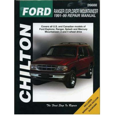 manual repair autos 1991 ford explorer auto manual ford explorer 1991 99 sagin workshop car manuals repair books information australia integracar
