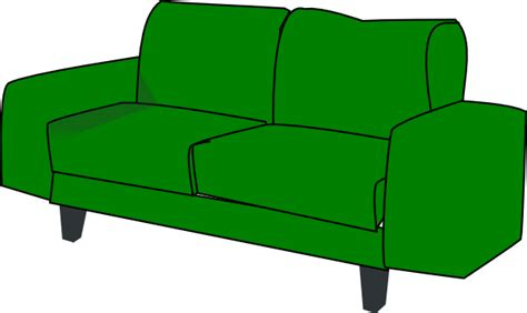 clipart sofa green sofa couch clip art at clker com vector clip art