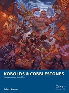 kobolds cobblestones osprey publishing