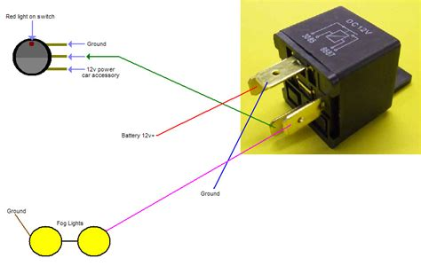 driving light relay diagram fog light relay wiring diagram how to wire driving lights