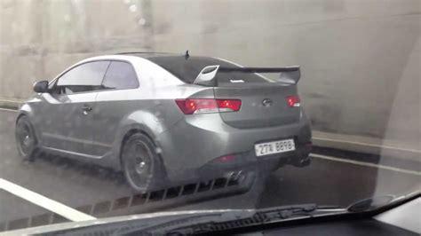 Kia Cerato Turbo Kit Kspeed Rear Trunk Lip Wing Spoiler Unpainted Fit Kia