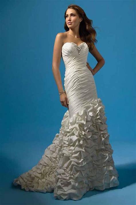 best silhouette beautiful mermaid wedding dresses