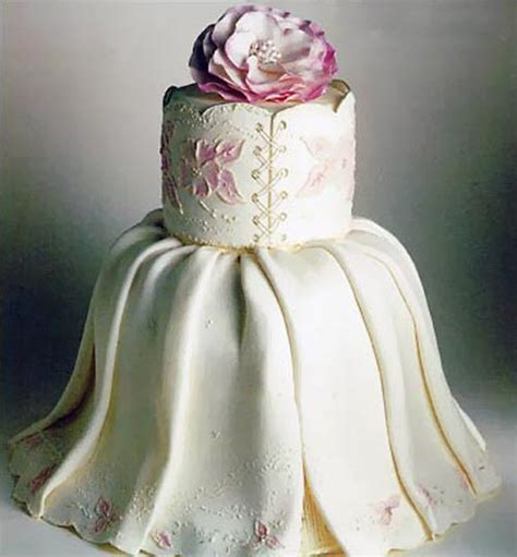 Wedding Cake Dress by Wedding Dress Cake Designs
