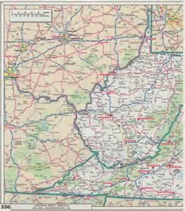 map wv west virginia counties newhairstylesformen2014