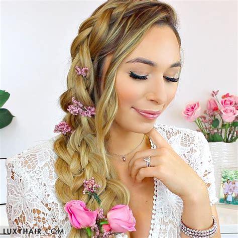 easy diy bridal hairstyles hr 3 pinterest wedding hair 3 diy hairstyle ideas luxy hair