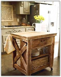 Kitchen Islands With Wheels Rustic Kitchen Islands Home Design Ideas