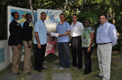Foundation Nazzua Sandals Foundation Donates To The Bahamas National Trust