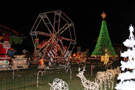 christmas ferris wheel lawn decoration christmas decore