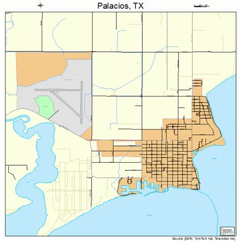 palacios texas map palacios texas map 4854684