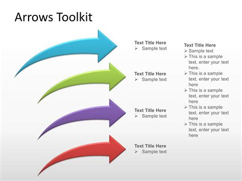 Arrows Template For Powerpoint Presentations Powerpoint Arrows For Powerpoint Presentations