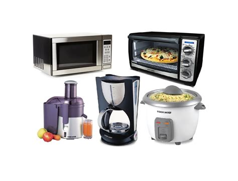 list of kitchen appliances image gallery home kitchen equipment