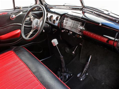 1940 Ford Interior by 1940 Ford Deluxe Custom 2 Door Coupe 138415