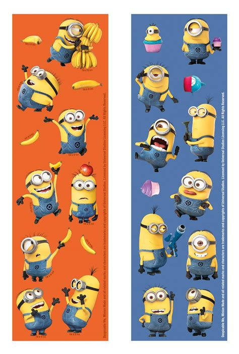 Set Minion set minions stickers decoratie en goedkope