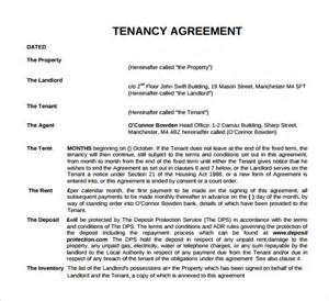 Free Tenancy Agreement Template Download tenancy inventory template 7 download free documents in pdf