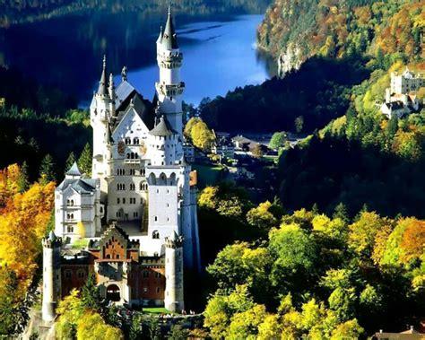 neuschwanstein castle bavaria germany alps