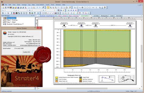 Software Alat Pemetaan Golden Software Strater V5 golden software strater v4 6 1700 x86 x64 التطبيقات الهندسية